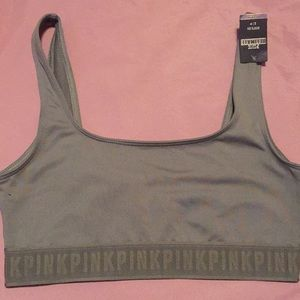 Victoria Secret PINK Sports Bra Small Olive